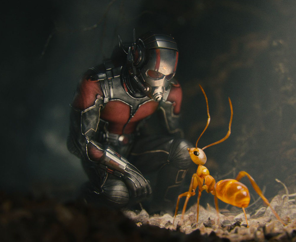 Antman (Stereo Roto/Paint)